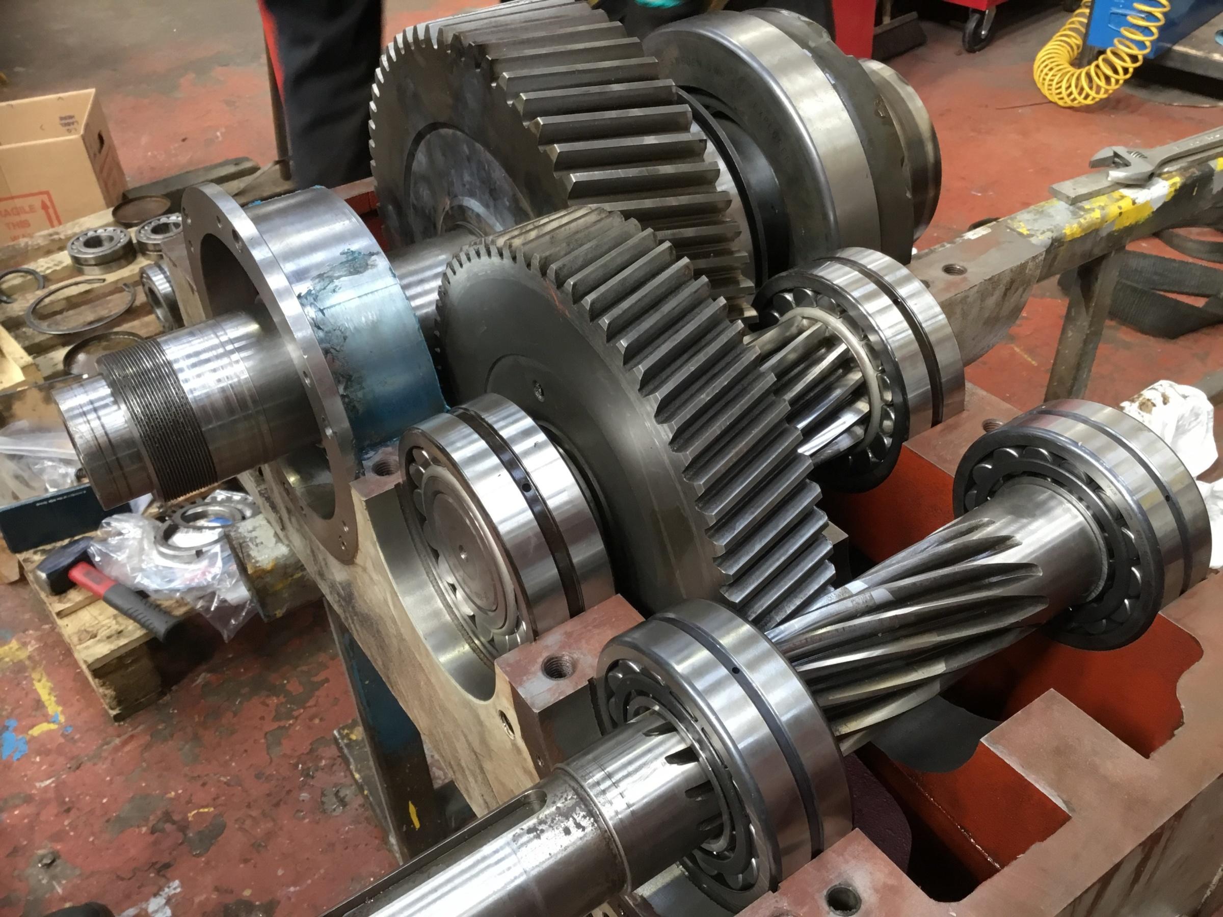 Industrial Gearbox Repair | Gems Engineering